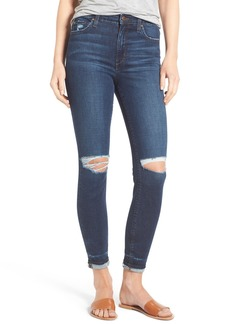 Joe's Jeans Joe's Flawless - Charlie Markie High Rise Crop Skinny Jeans (Kennide)