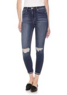Joe's Flawless - The Charlie High Waist Ankle Skinny Jeans (Mandala)