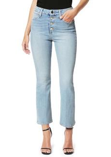 Joe's Jeans Joe's Flawless The Hi Rise Honey High Waist Crop Curvy Bootcut Jeans (Indigo Reissue)