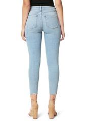 Joe's Jeans Joe's Flawless The Icon Cut Hem Crop Skinny Jeans (Indigo Reissue)