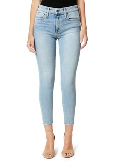 Joe's Jeans Joe's Flawless The Icon Cut Hem Crop Skinny Jeans (Indigo Reissue)