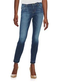 Joe's Frayed Cuff Skinny Jean