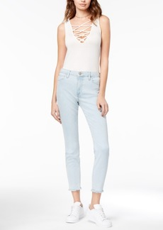 Joe's Jeans The Charlie Ankle Frayed Skinny Jeans