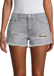 Joe's Jeans Gabrielle Distressed Denim Shorts