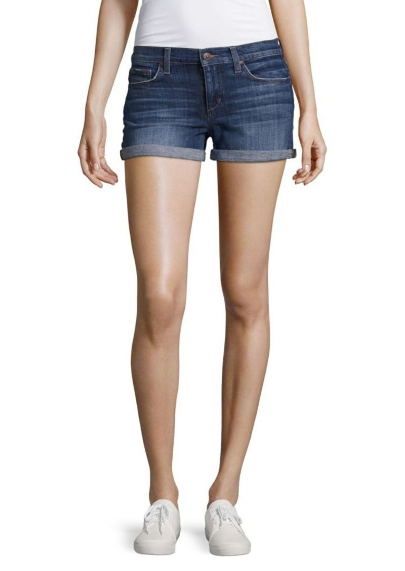 Joe's Jeans Joe's Genna Rolled Denim Shorts