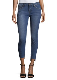 Hi-Lo Ankle Jeans