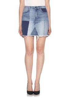 Joe's High Rise Cutoff Denim Skirt (Sofia)