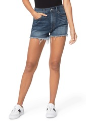 Joe's Jeans Joe's High Waist Cutoff Denim Shorts (Runaround)