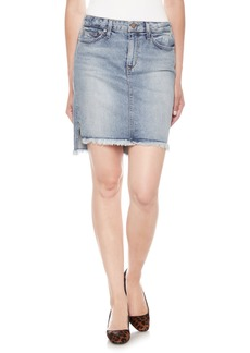 Joe's High/Low Denim Pencil Skirt (Shawny)
