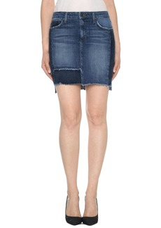 Joe's High/Low Patchwork Denim Skirt (Kyree)