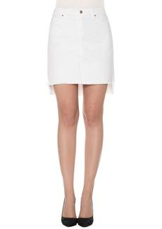 Joe's High/Low Pencil Skirt (Field)