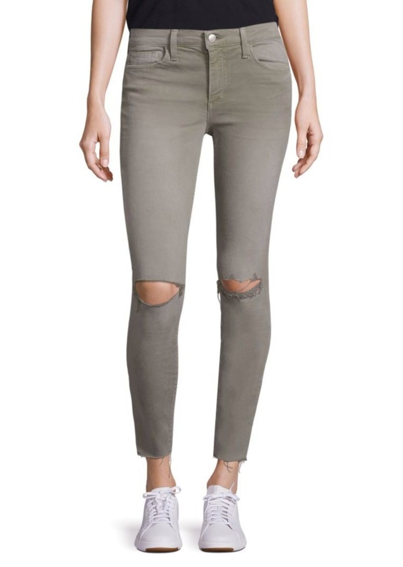 Joe's Jeans Icon Ankle Skinny Distressed Jeans