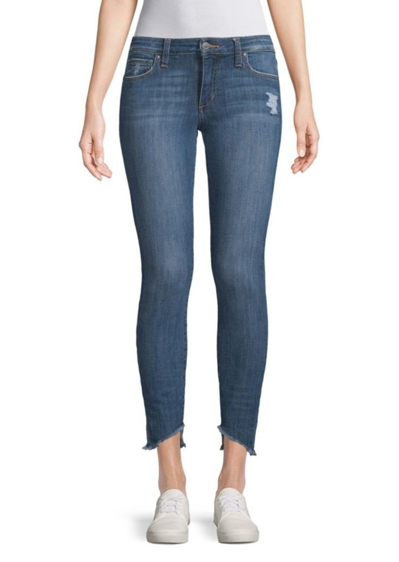 Joe's Jeans Icon Blondie Hem Ankle Jeans