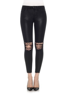 Joe's Icon Coated Ankle Skinny Jeans (Masie)