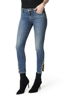Joe's Jeans Joe's Icon Embellished Slit Ankle Skinny Jeans (Cleo)