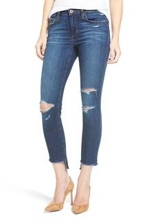 Joe's Jeans Joe's Icon Ripped Step Hem Crop Skinny Jeans (Blondie) (Nordstrom Exclusive)