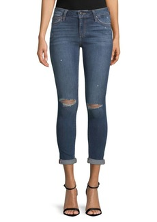 Icon Rolled-Cuffs Cropped Jeans