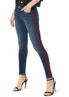 Joe's Jeans Joe's Icon Velvet Side Stripe Skinny Ankle Jeans (Calyn)