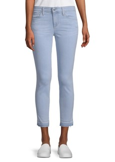 Icon Whiskered Crop Skinny Jeans