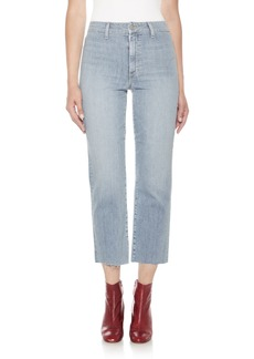 Joe's Jane High Waist Crop Boyfriend Jeans (Dezirae)