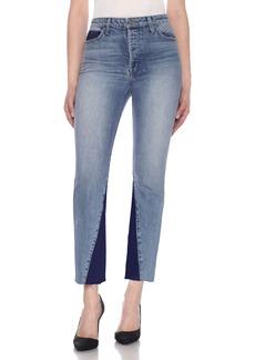Joe's Jeans Bella Contrast Crop Flare Jeans (Karolyn)