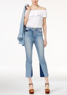 Joe's Jeans Bella Cropped Flared Jeans