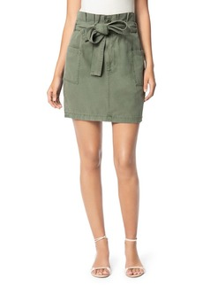 Joe's Jeans Belted Paperbag-Waist Skirt