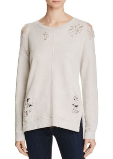 Joe's Jeans Bibiana Distressed Sweatshirt
