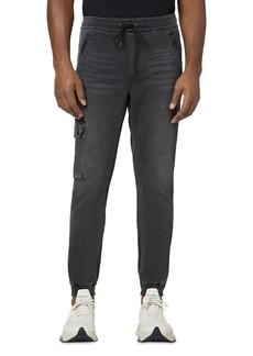 Joe's Jeans Black Drop Yoke Cargo Jogger Pants