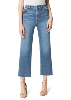 Joe's Jeans The Blake High Rise Wide Leg Crop Jeans