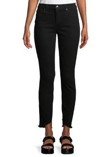 Joe's Jeans Blondie Skinny Frayed-Ankle Jeans