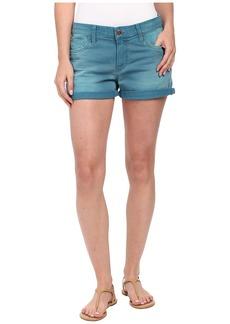 Joe's Jeans Boyfriend Shorts in Ultramarine