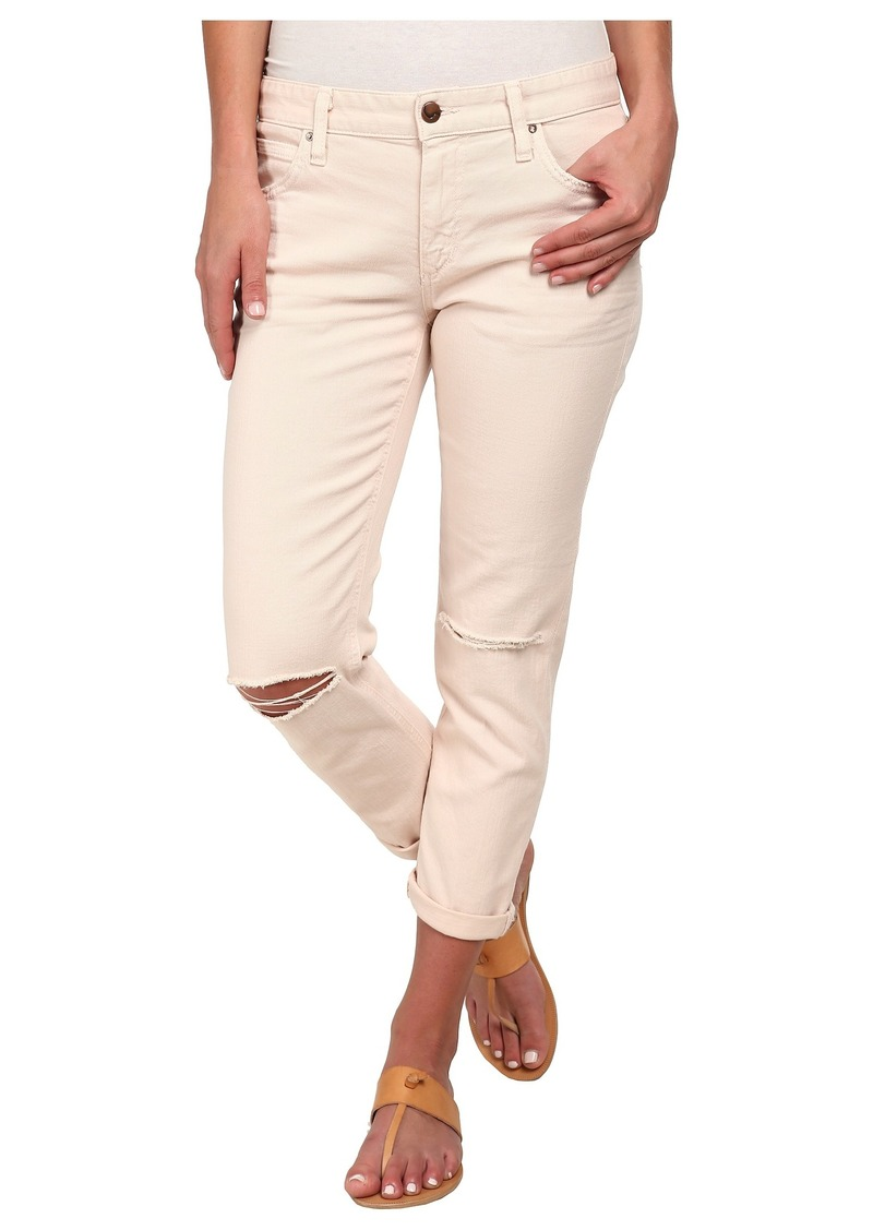 Joe's Jeans Boyfriend Slim Crop in Porcelain