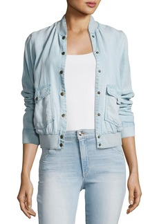 Joe's Jeans Brigette Denim Bomber Jacket