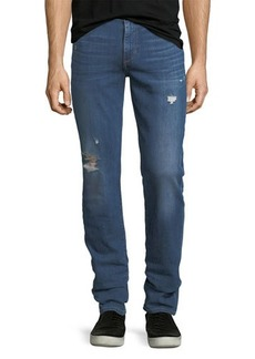 Joe's Jeans Brixton Distressed Straight-Leg Jeans