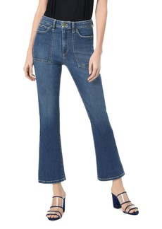 Joe's Jeans Callie Utility-Pocket Crop Bootcut Jeans in Lucy