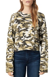 Joe's Jeans Camo Sweatshirt