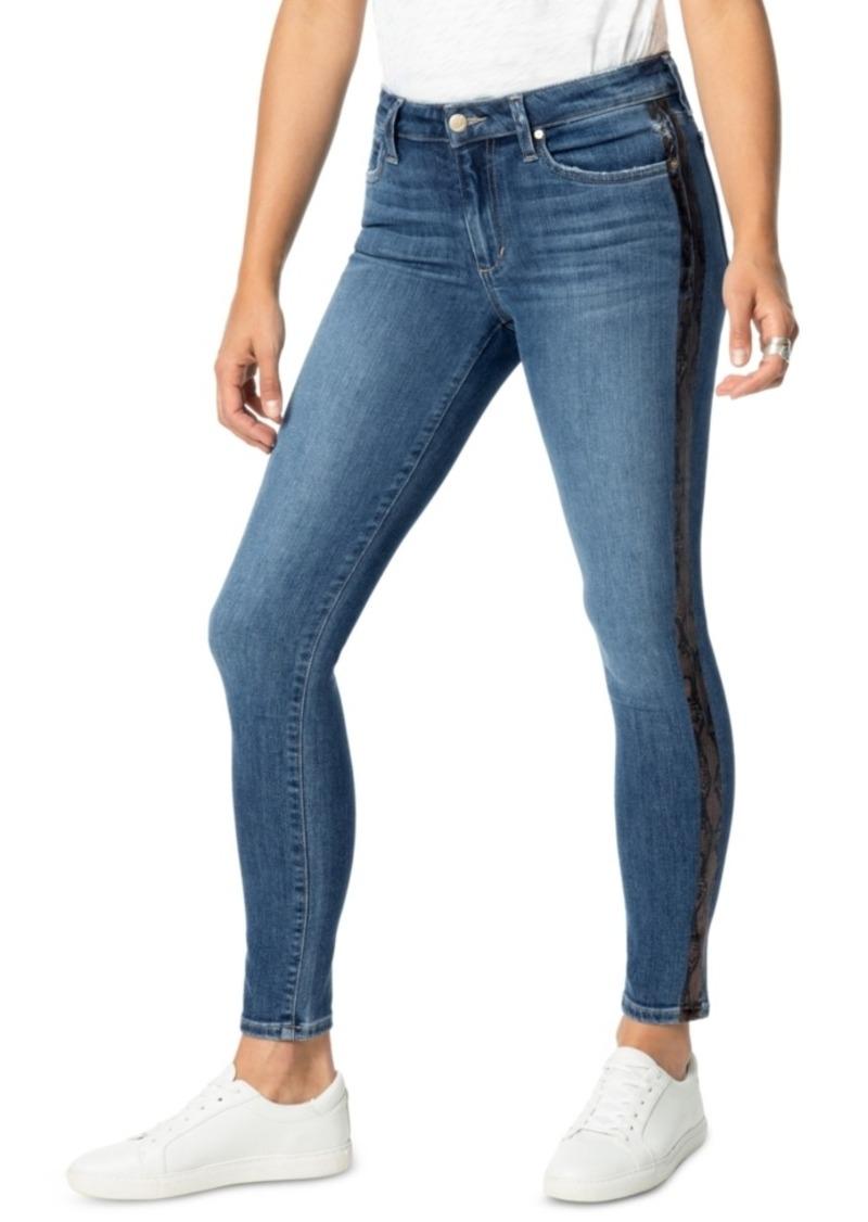 Joe's Jeans Charlie Cobra-Print Ankle Jeans