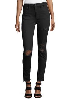 Joe's Jeans Charlie Distressed Skinny Ankle Jeans