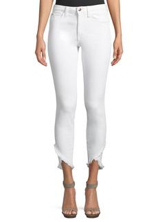 Joe's Jeans Charlie Mid-Rise Skinny-Leg Tulip-Hem Jeans