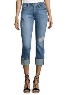 Joe's Jeans Clean 4 Skinny Crop Denim Pants