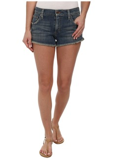 Joe's Jeans Collector's Edition Cut Off Shorts in Navi