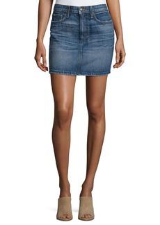 Joe's Jeans Crescendo Denim Mini Skirt