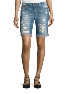 Joe's Jeans Distressed Bermuda Shorts