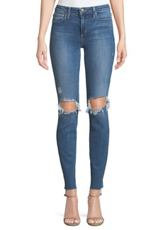 Joe's Jeans Distressed Icon Skinny Jeans