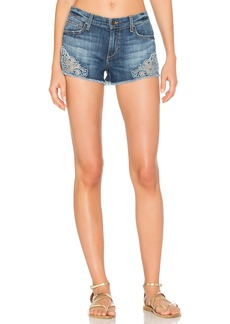 Joe's Jeans Embroidered Cut Off Short