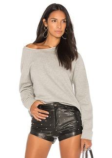 Joe's Jeans Emily Sweatshirt in Gray. - size L (also in M,S,XS)