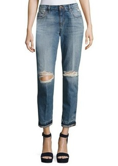 Joe's Jeans Ex-Lover Distressed Ankle Jeans