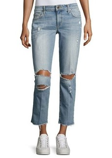 Joe's Jeans Ex-Lover Distressed Cropped Jeans