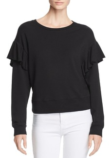 Joe's Jeans Faye Ruffled Sweatshirt